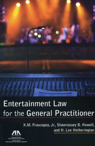9781616329143: Entertainment Law for the General Practitioner