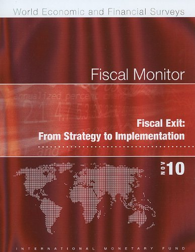 Fiscal Monitor, November 2010 (World Economic and Financial Surveys): Gerson, Philip R.