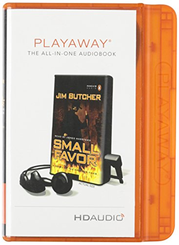 9781616374389: Dresden Files: Small Favor [With Earbuds] (Playaway Adult Fiction)