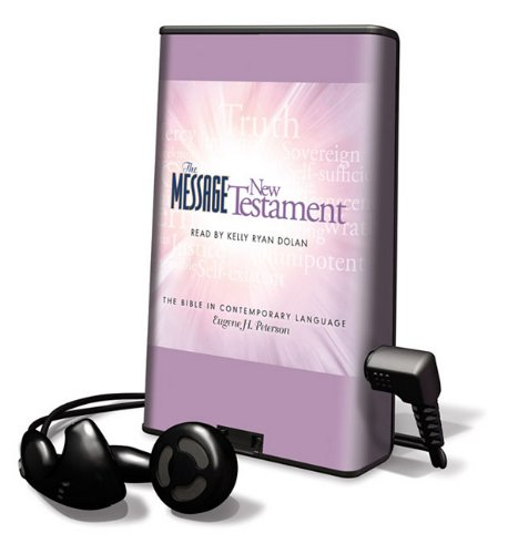 9781616377014: Message New Testament-MS (Playaway Adult Nonfiction)