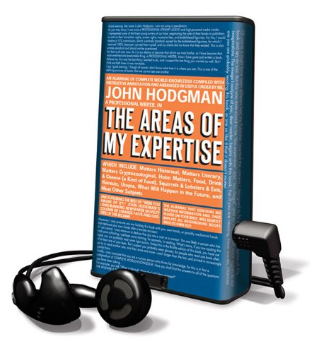 9781616377045: The Areas of My Expertise [With Earbuds] (Playaway Adult Nonfiction)