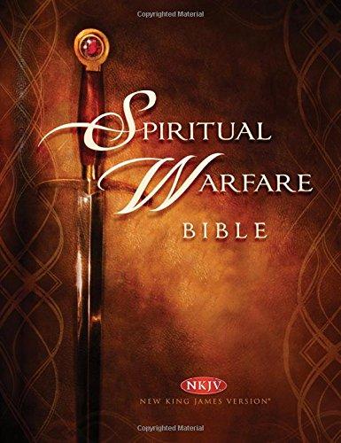 9781616388225: Spiritual Warfare Bible: New King James Version