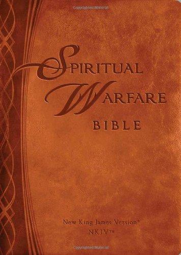 9781616388232: Spiritual Warfare Bible: New Kings James Version (Brown)