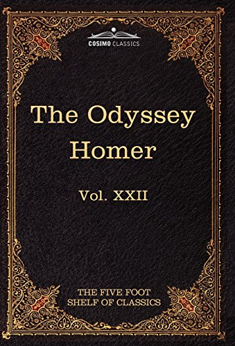 9781616401481: The Odyssey of Homer: The Five Foot Shelf of Classics, Vol. XXII (in 51 Volumes)
