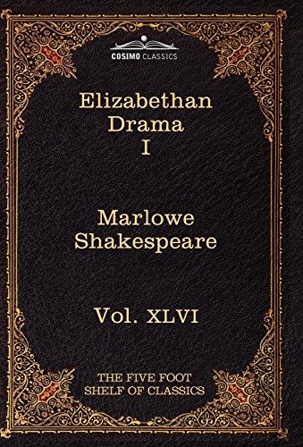 9781616401689: Elizabethan Drama I: The Five Foot Shelf of Classics, Vol. XLVI (in 51 Volumes)