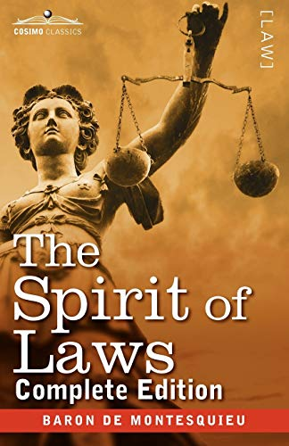 9781616405281: The Spirit of Laws
