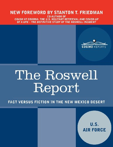 9781616407810: The Roswell Report: Fact Versus Fiction in the New Mexico Desert (Cosimo Reports)