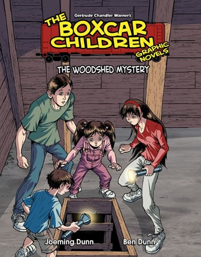 9781616411213: The Woodshed Mystery (Boxcar Children Graphic Novels Set 3) (The Boxcar Children Graphic Novels Set 3)