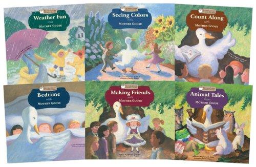 Mother Goose Nursery Rhymes (Set of 6): Mother Goose