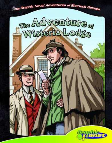 9781616418960: The Graphic Novel Adventures of Sherlock Holmes: The Adventure of Wisteria Lodge