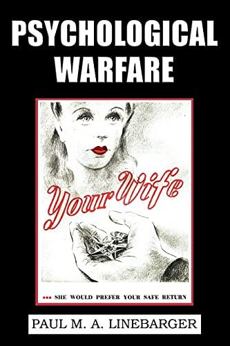 9781616460556: Psychological Warfare (WWII Era Reprint)