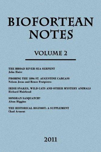 9781616461096: BioFortean Notes: Volume 2
