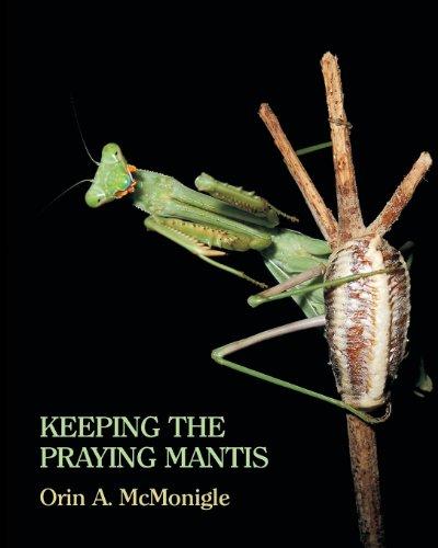 9781616461652: Keeping the Praying Mantis: Mantodean Captive Biology, Reproduction, and Husbandry