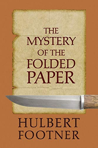 9781616462550: The Mystery of the Folded Paper (an Amos Lee Mappin Mystery)