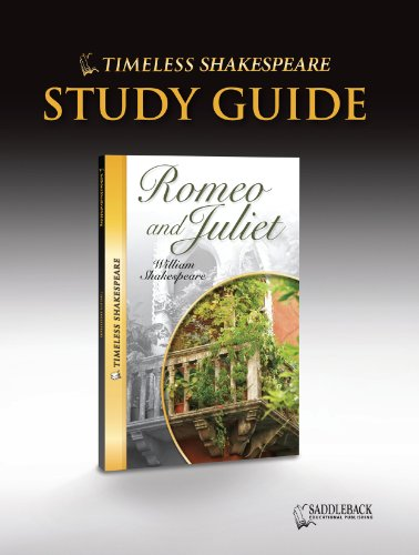 9781616511661: Romeo and Juliet Study Guide- Timeless Shakespeare (Timeless Classics)