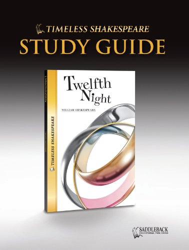 9781616511685: Twelfth Night Study Guide- Timeless Shakespeare (Timeless Classics)