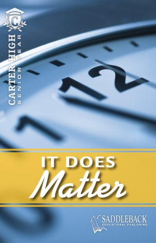 It Does Matter (Paperback): Eleanor Robins