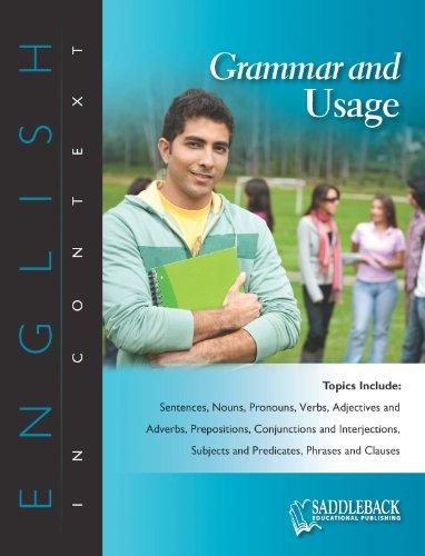 Grammar and Usage-English in Context: Saddleback Educational Publishing