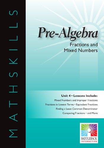 9781616514648: Fractions and Mixed Numbers (Pre-Algebra)
