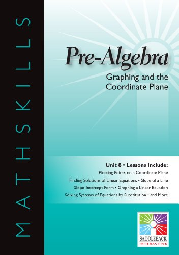 9781616514686: Graphing and the Coordinate Plane (Easy-To-Use Interactive Smart Board Lessons (Mathskills))