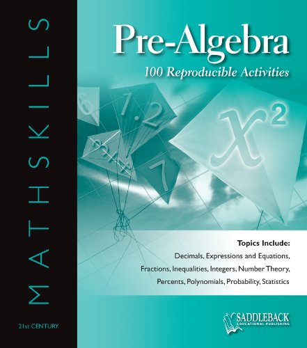 MathSkills Pre-Algebra ENHANCED: Saddleback Educational Publishing