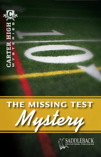 9781616515669: Missing Test Mystery (Carter High Mysteries)