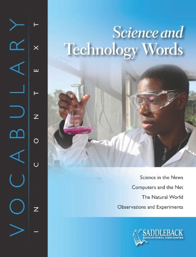 9781616517038: Science and Technology Enhanced (Vocabulary in Context (Saddleback Educational))