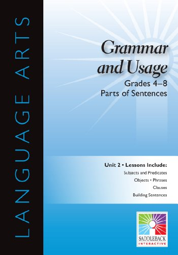 9781616519056: Parts of Sentences Interactive Whiteboard Resource (Easy-to-Use Interactive Smart Board Lessons (Language Arts))