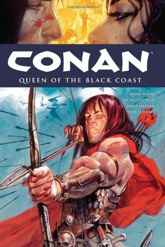 Conan Volume 13: Queen of the Black Coast HC (Conan (Dark Horse)): Wood, Brian