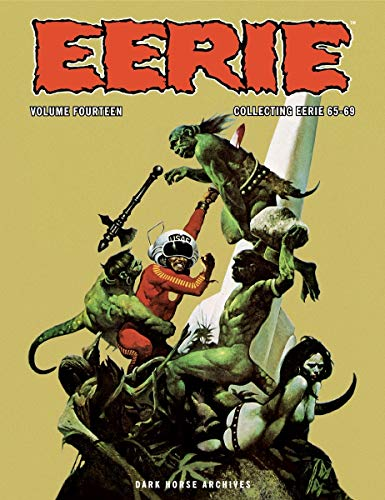 Eerie Archives Volume 14 (Hardcover): Budd Lewis