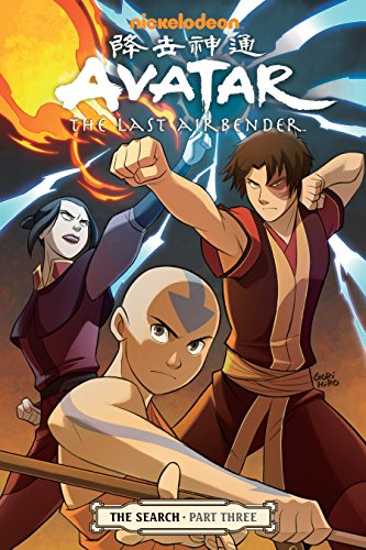 9781616551841: Avatar: The Last Airbender: The Search, Part 3