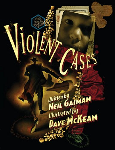 Violent Cases Signed Neil Gaiman