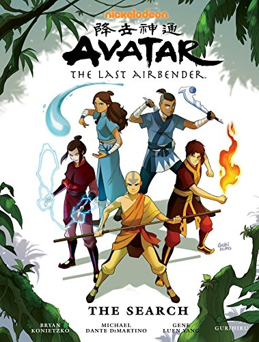9781616552268: Avatar: The Last Airbender - The Search Library Edition