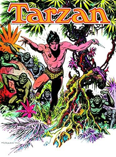 9781616555375: Edgar Rice Burroughs' Tarzan: Burne Hogarth's Lord of the Jungle