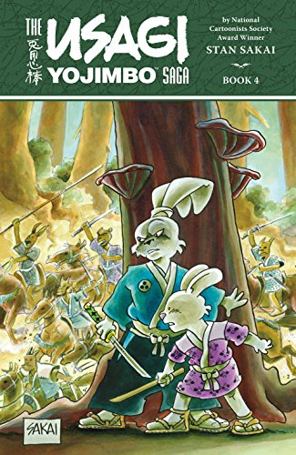 9781616556129: Usagi Yojimbo Saga Volume 4