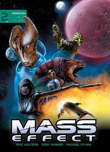 9781616556365: Mass Effect Library Edition Volume 2: Foundation