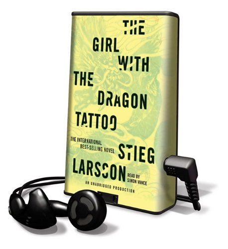 9781616574819: The Girl with the Dragon Tattoo (Playaway Adult Fiction)