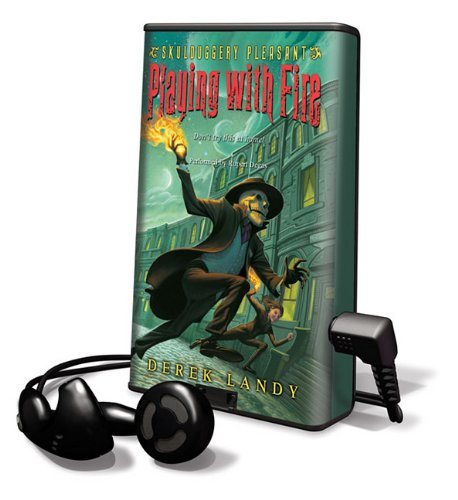 9781616576103: Playing With Fire (Skulduggery Pleasant - book 2) (Playaway Children)