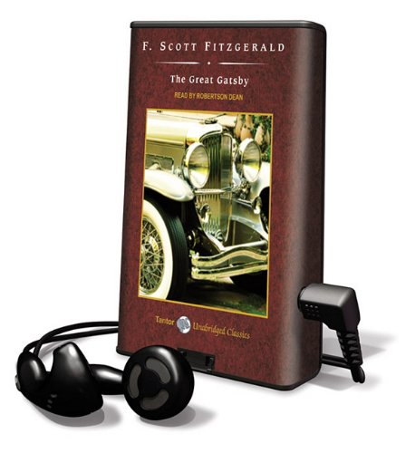 9781616576561: The Great Gatsby [With Earbuds] (Playaway Adult Fiction)