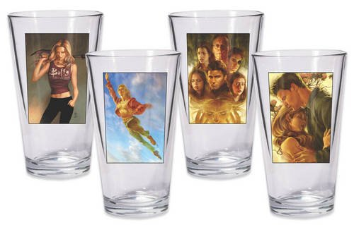 9781616591212: Buffy the Vampire Slayer Pint Glass Set of 4