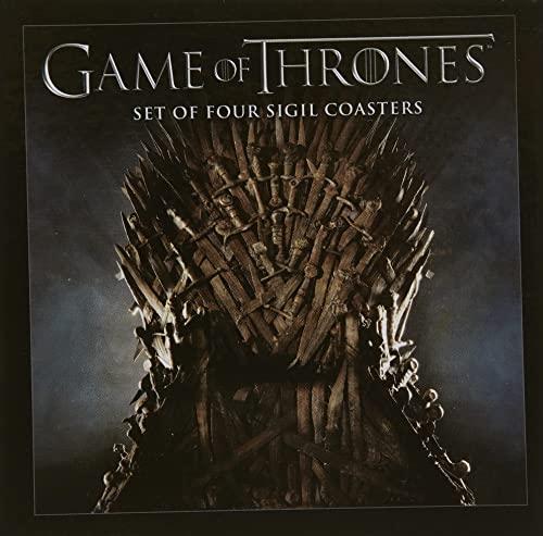 9781616592325: Game of Thrones Sigil Coasters Set-