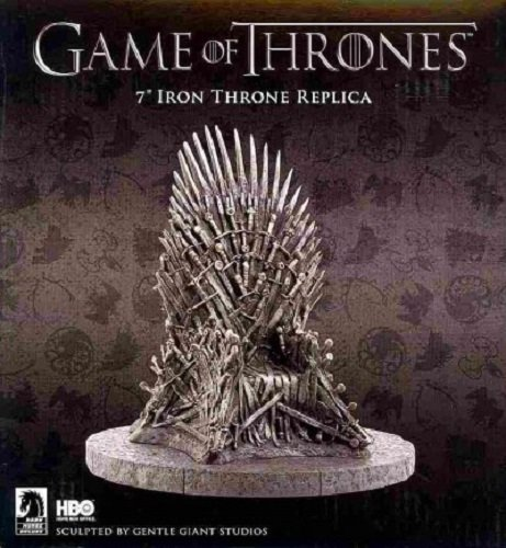 9781616592622: Game of Thrones Iron Throne 7 Replica