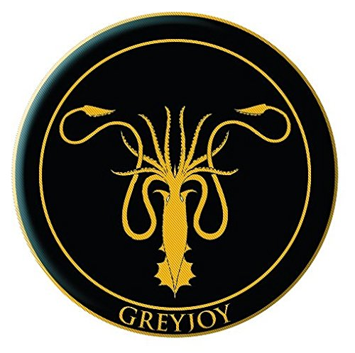 Game of Thrones Embroidered Patch: Greyjoy: Dark Horse Deluxe