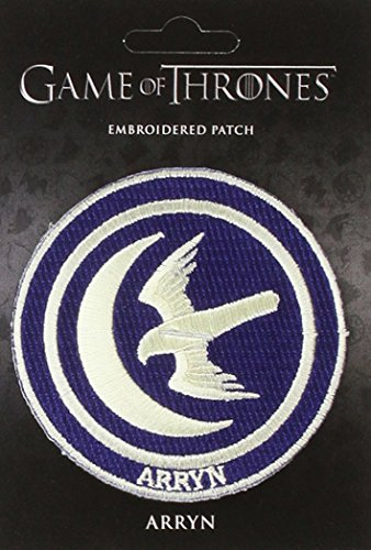 Game of Thrones Embroidered Patch: Arryn: Dark Horse Deluxe