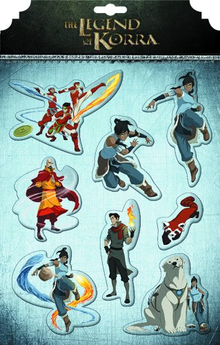 9781616595289: The Legend of Korra Magnet Set