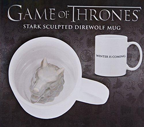 Dark Horse Deluxe Game of Thrones: Stark Direwolf Sculpted Mug
