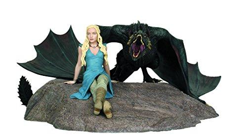 9781616595593: Game Of Thrones Daenerys & Drogon Statue