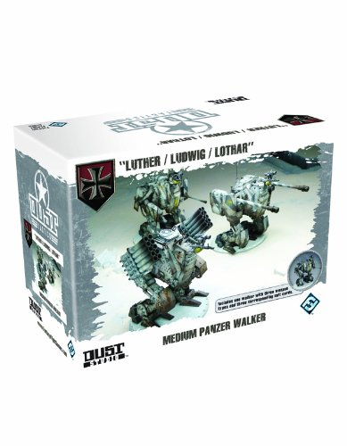 9781616610746: Dust Tactics: Medium Panzer Walker: Luther/Ludwig/lothar