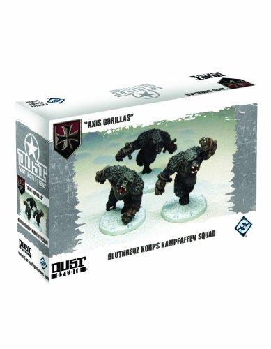 9781616611231: Dust Tactics Blutkreuz Korps Kampfaffen Squad: Axis Gorillas