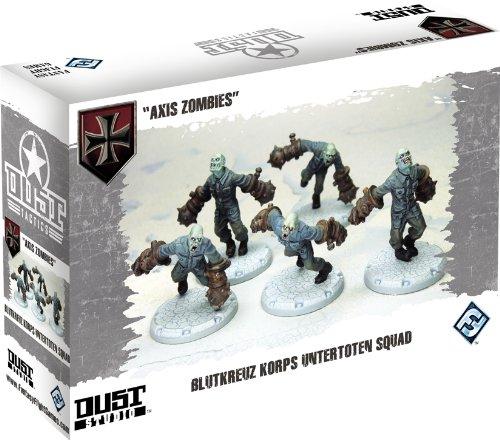 9781616611255: Dust Tactics Axis Zombies: Blutkreuz Korps Untertoten Squad